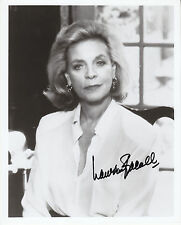 LAUREN BACALL hand signed 8x10 autographed photo | photograph (serious face)