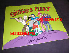 Gilligan's Island signed animation cel owned by Russell Johnson Professor RARE