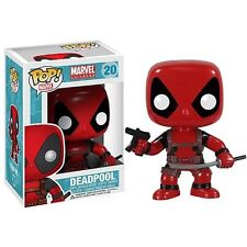 Marvel Deadpool Bobble Head Vinyl Action Figure Funko Pop Toy 4in