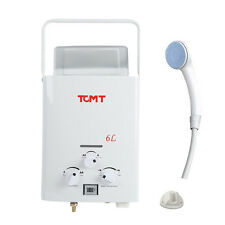 6L Propane Gas Instant Hot Water Heater Bath House Tankless Boiler +Shower Head