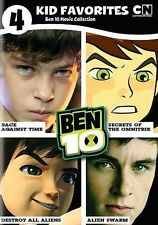 4 Kid Favorites: Ben 10 Movie Collection Cartoon Network CN 4-DISC SET DVD