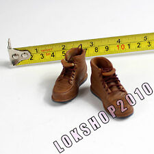 "1/6 HOT 12"" figure female sand boots (boots fit over the feet) TOYS XE64-04"
