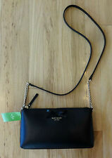NWT AUTHENTIC KATE SPADE SAWYER STREET DECLAN BLACK CROSSBODY BAG/PURSE