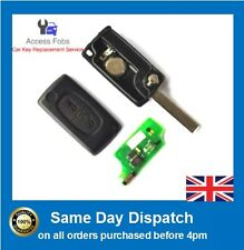 NEW Peugeot / Citroen 207 307 308 407Remote Key Flip ID46 433Mhz 2 button