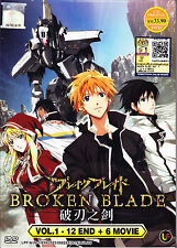 Broken Blade DVD (Vol : 1 to 12 end) + 6 Movies with English Subtitle