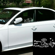 Car White Funny Making My Family Decor Decal Sticker For Windshield/Bumper/Door