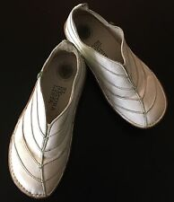 EL NATURA LISTA Spain White Leather Shoes Stitched Women's 37 US 6 1/2 7