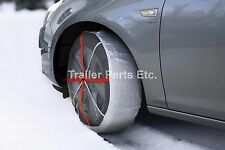 AutoSock Traction Wheel Covers for Snow Ice. Part # 645. No More Tire Chains!