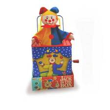 Jester Clown Musical Jack In The Box, Pop Goes The Weasel, Tin Toy, Schylling