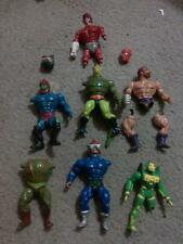 VINTAGE ACTION FIGURE CUSTOM BAIT PARTS LOT MOTU MASTERS DC SUPER POWERS