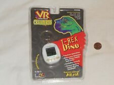 NEW T-Rex Dino Electronic Pet on Keychain VR Virtual Reality Creatures dinosaur