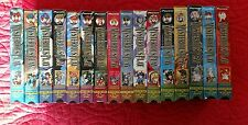 Fushigi Yuugi The Mysterious Play Lot of  16 VHS Tapes Entire Series Dubbed