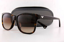 Brand New EMPORIO ARMANI Sunglasses 4042 5026/13 HAVANA/GRADIENT BROWN Women