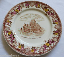 Chateau Frontenac Quebec Canada Royal Winton Grimwades England Bone China plate