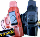 TAGUA Leather RH(ITP IWB CCW)In/Inside Pants Holster with BodyShield/comfort tab