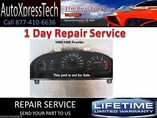 1998 to 2001 NISSAN FRONTIER INSTRUMENT CLUSTER REPAIR SERVICE Speedometer BEST!