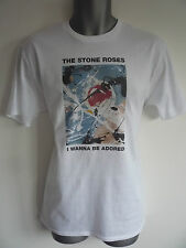 THE STONE ROSES I WANNA BE ADORED MENS KIDS TSHIRT MADCHESTER BROWN SQUIRE RENI