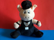 "11"" NEN BORN FREE RIDE FREE Biker Pig Plush Stuffed Animal  2014 GUC"