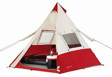 Ozark Trail Teepee Tent, Easy Up Design Sleeps 7, Outdoors Camping Adventures