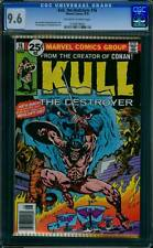Kull the Destroyer # 16  The Hero who Wouldn't Die !   CGC 9.6 scarce book !
