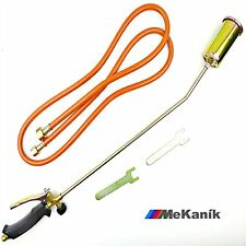 Long Arm Propane Gas Torch Burner 2m Hose Roofers Roof kit weed torch