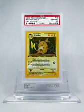 PSA 10 GEM MINT 1st Edition Raichu Pokemon Fossil Set #14/62
