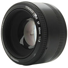 Yongnuo 50mm F1.8 1:1.8 Standard Prime Lens Auto Manual Focus AF MF for Canon