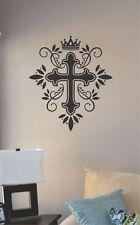 Cross Jesus God Church Bible vinyl wall art decal sticker home decor art sign
