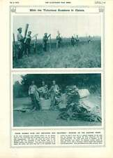 1916 Russian Troops Galician Front Unpacking Equipment Laying Wire Entanglements