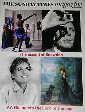 SUNDAY TIMES 14 SEP 2014 LORD SNOWDON'S PHOTOGRAPHIC ARCHIVE PRINCESS DIANA