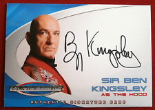Thunderbirds The Movie - AC2 Sir Ben Kingsley, The Hood -  Auto Autograph Card