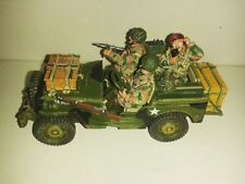 KING AND COUNTRY WW2 MG029 BRITISH AIRBOURNE RADIO JEEP MIB