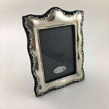 English Sterling Silver Picture Frame TKI From London 1991 For 4.5x6 Photo