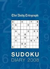 2007-09-25, Daily Telegraph Sudoku Diary 2008, Frances Lincoln, Excellent, -- Ge