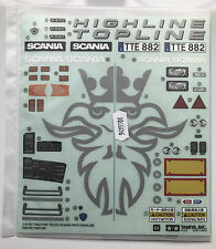 Tamiya 9495508/19495508 Scania R470 Decals & Mesh Sticker Set NIP