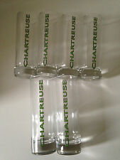 LOT 6 VERRES TUBES CHARTREUSE 22 CL