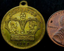 S083: 1902 Advertising Medal / Token - 1902 Coronation / Barratts Sweets