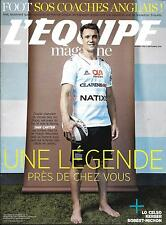 L'EQUIPE MAGAZINE N°1783 17/09/2016  DAN CARTER/ LO CELSO/ SOS COACHES ANGLAIS