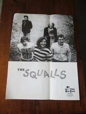 THE SQUALLS  25 X 18.5 PROMOTIONAL POSTER DOG GONE RECORDS