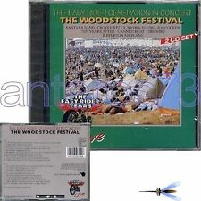 THE WOODSTOCK FESTIVAL RARE 2 CD SET 1993 SANTANA JIMI HENDRIX THE WHO JOAN BAEZ