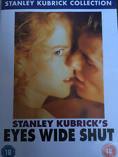 Tom Cruise Nicole Kidman EYES WIDE SHUT ~ 1999 Stanley Kubrick Drama | UK DVD