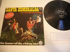 SANTA ESMERALDA STARRING JIMMY GOINGS LP THE HOUSE OF THE RISING SUN. MOTO COVER