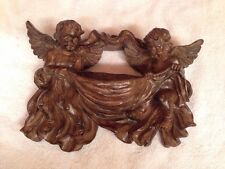 "2 Angels Cherubs Wall Decor 12"" X 10"""