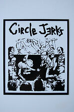 Circle Jerks Sticker Decal (328) Punk Rock Minor Threat Ramones Sex Pistols