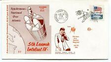 19973 5th Launch Intelsat IV Stationed Atlantic Kennedy Space Center NASA SAT