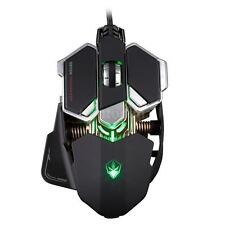 LUOM G10 4000DPI Adjustable USB Wired Optical Pro Gaming Mouse Mice Black Z6R2