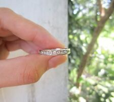 .39 Carat Diamond White Gold Half Eternity Ring 14k sep013