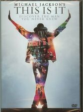 MICHAEL JACKSON - THIS IS IT - DVD - NEW