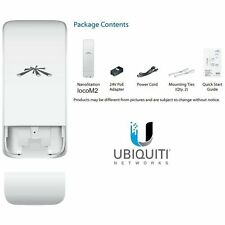 Ubiquiti NanoStation Loco M2- CPE access point outdoor POE 2,4GHz 8dBi