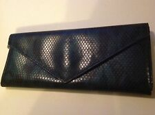 Marc by Marc Jacobs Iridescent Green & Black PVC Wallet~Magnetic Snap~Preowned